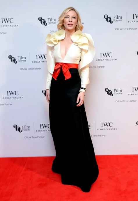 Cate Blanchett Wearing Gucci