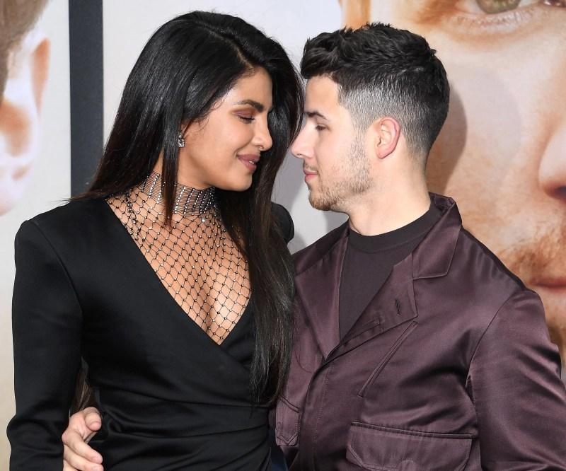 LOS ANGELES, CALIFORNIA - JUNE 03: Priyanka Chopra-Jonas, Nick Jonas arrives at the Premiere Of Amazon Prime Video's