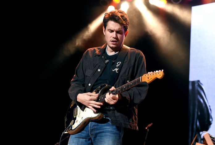 LOS ANGELES, CALIFORNIA - OCTOBER 31:  John Mayer performs onstage during