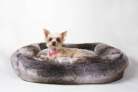 Restoration Hardware Luxe Faux Fur Pet Bed ($99 and up ...