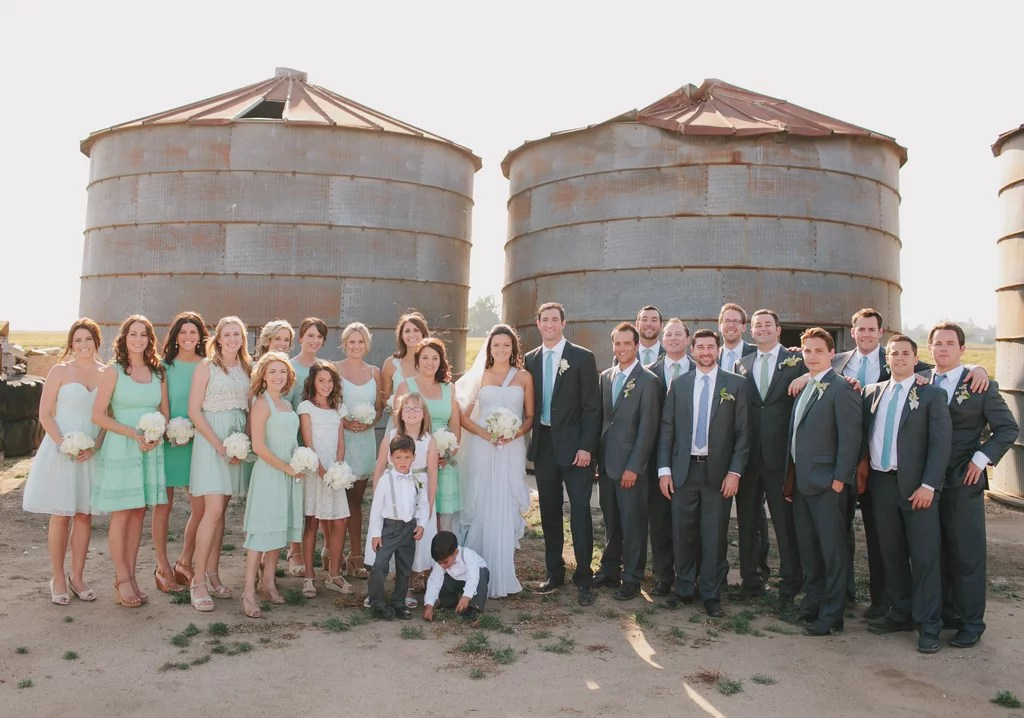 Central Valley California Farm Wedding  POPSUGAR Love  Sex Photo 41