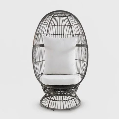 latigo swivel patio egg chair 40