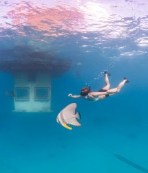 Floating Hotel With Underwater Room Paradise