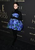 No, That is Not a Floating Floral Costume: Joey King's Outfit Creates a Cool Optical Phantasm