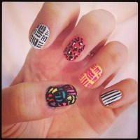 Lines and Dots | Best Spring 2014 Nail Art of Instagram ...