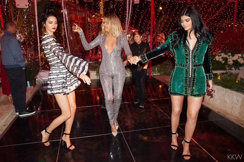 Kardashian Christmas Party 2015 Pictures POPSUGAR