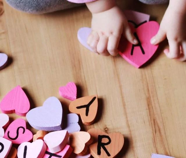 Valentines Day Heart Blocks