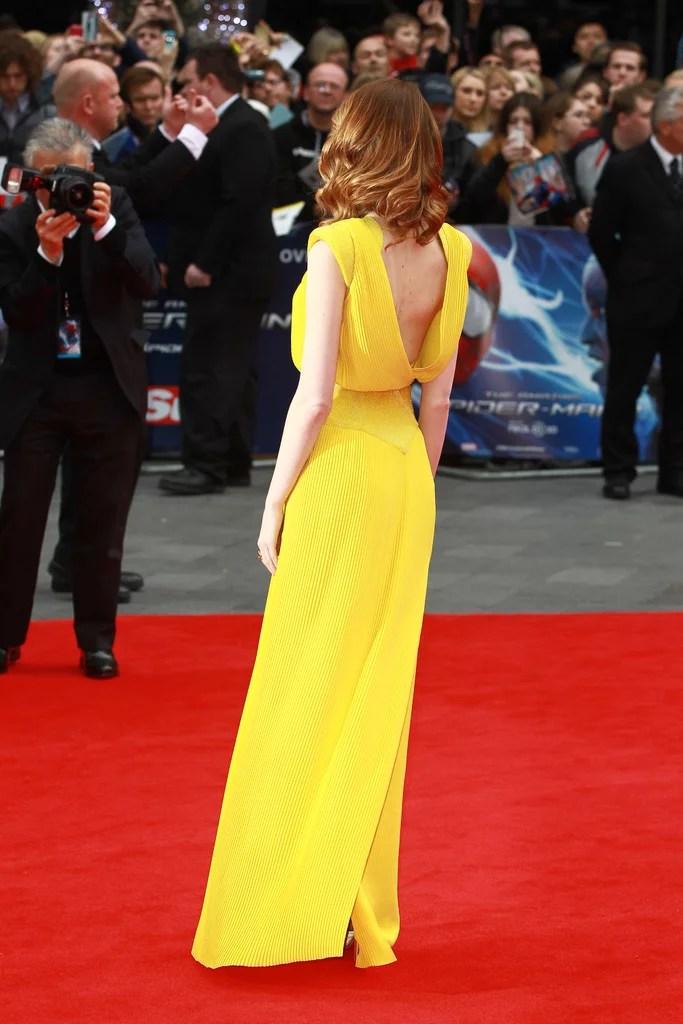Yellow Dress Emma Stone La La Land