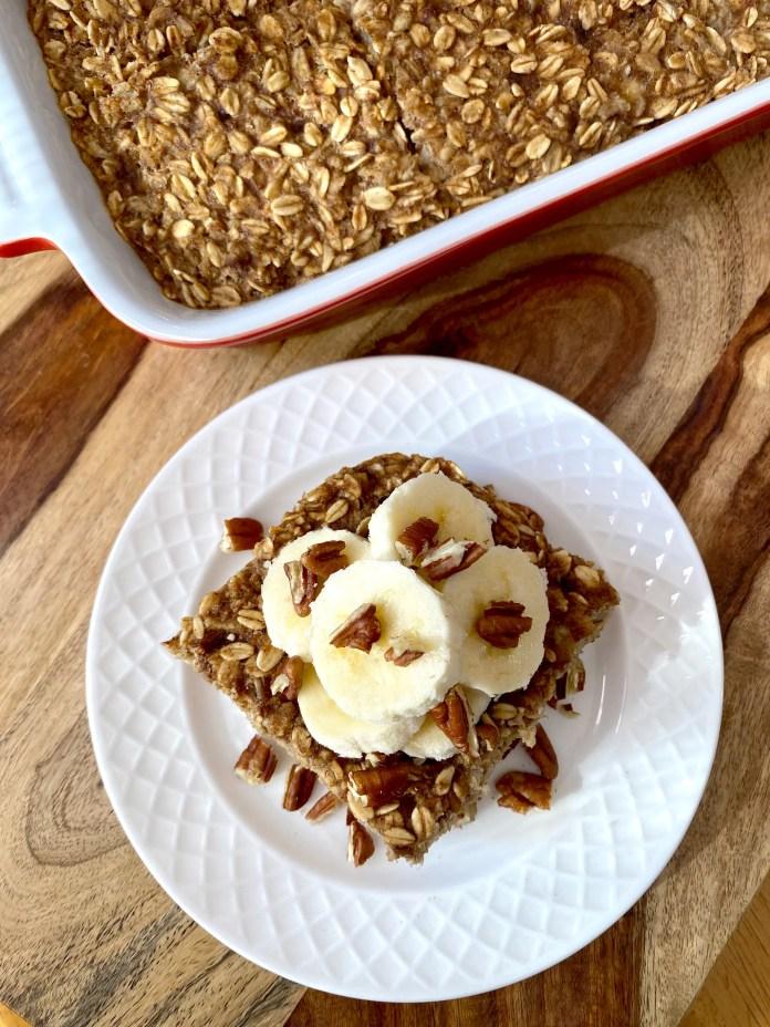 Sugar-Free Baked Oatmeal Recipe   CelebrityPie Health
