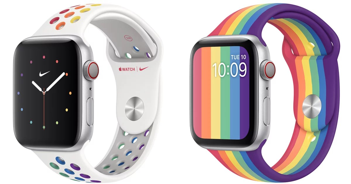 Apple Is Celebrating Pride Early This Year With Beautiful New Sport Watch Bands