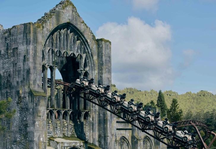 Hagrid's magical motorbike adventure