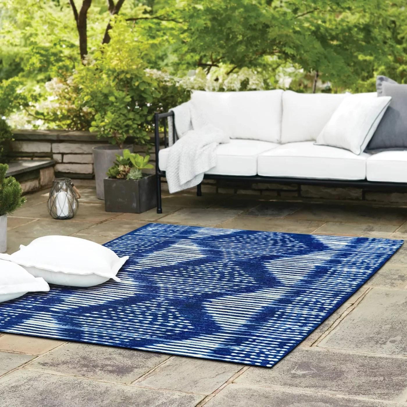 indigo dye outdoor rug 61 outdoor