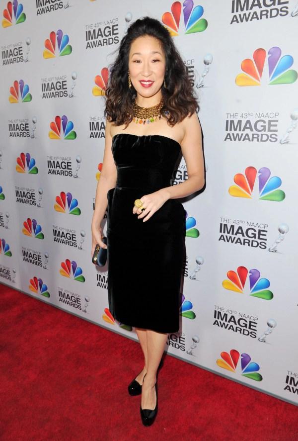 Sandra Home Big Winner Naacp Awards Popsugar Celebrity