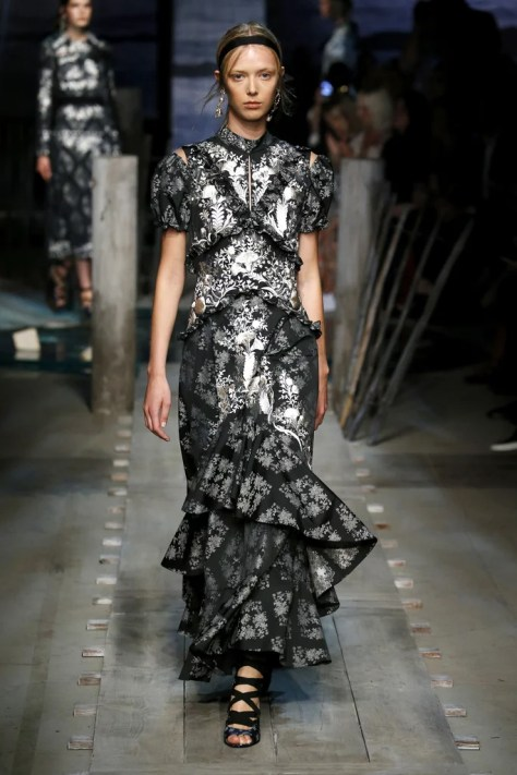 The Erdem Spring 2017 collection was debuted at London Fashion Week on Sept. 19.