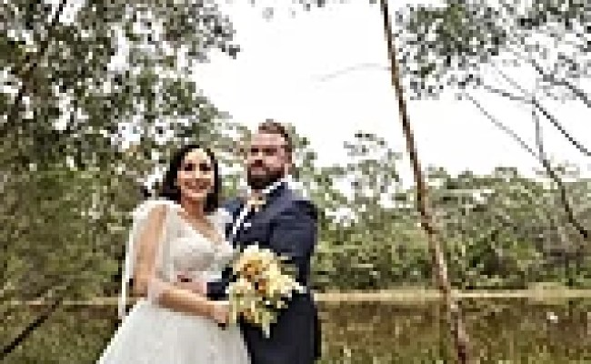 Poppy And Luke S Mafs Wedding Pictures 2020 Popsugar
