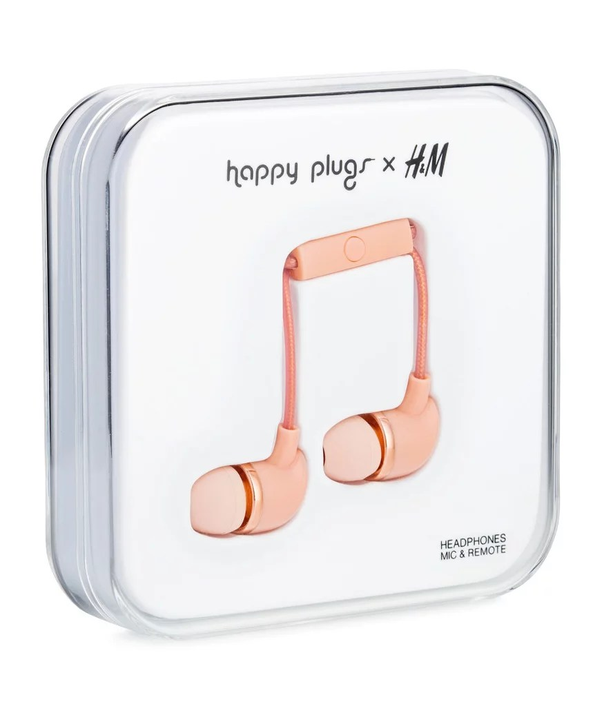Happy Plugs x H&M Headphones