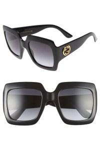 Gucci 54mm Square Sunglasses   Melania Trump Sunglasses ...