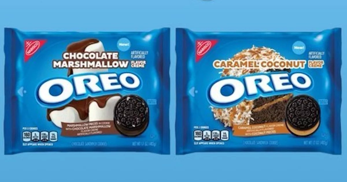 Oreo Flavors List 2020.Oreo Is Releasing Chocolate Marshmallow And Caramel Coconut