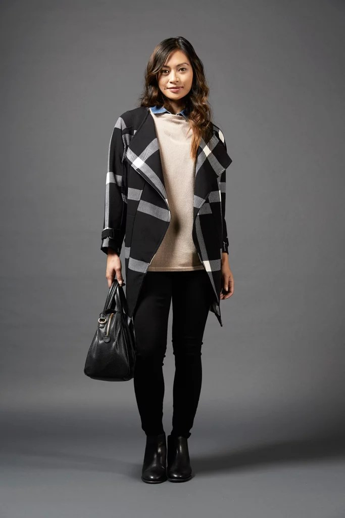 When to wear the medium-length coat
