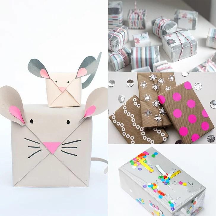 diy gift wrap popsugar
