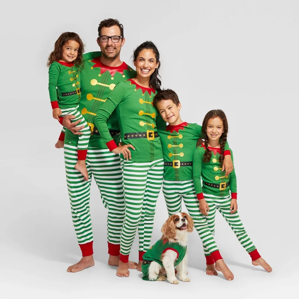 The Best Matching Family Christmas Pajamas In