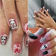 horror movie nail art inspiration