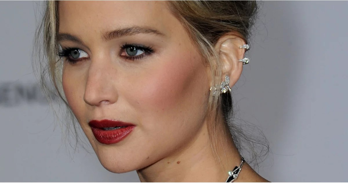 Jennifer Lawrence Perfect Face Features  POPSUGAR Beauty