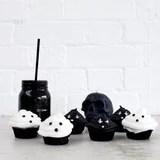 Vegan Halloween Ghost Cupcakes