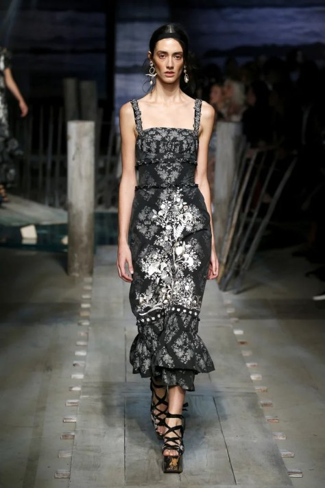 The Erdem Spring 2017 collection was revealed during London Fashion Week on Sept. 19.