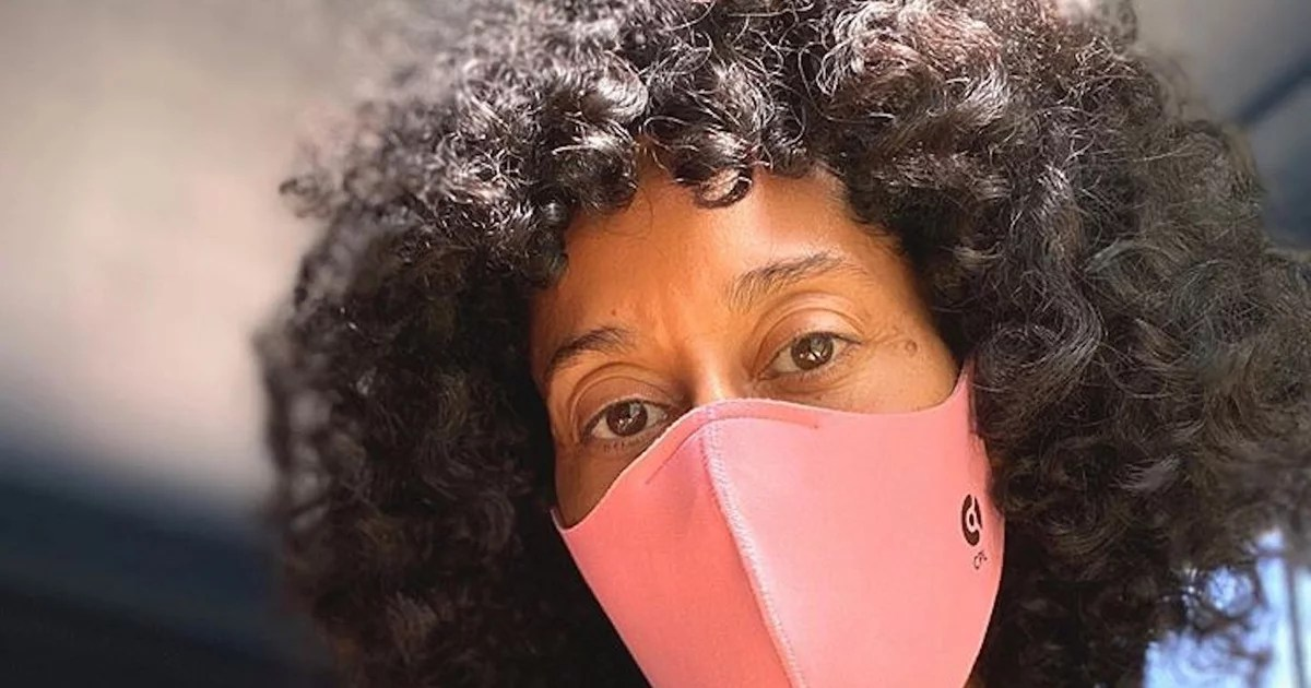 Photo of Tory Burch Started the #WearADamnMask Challenge — Tracee Ellis Ross Is 1 of Many Who've Accepted