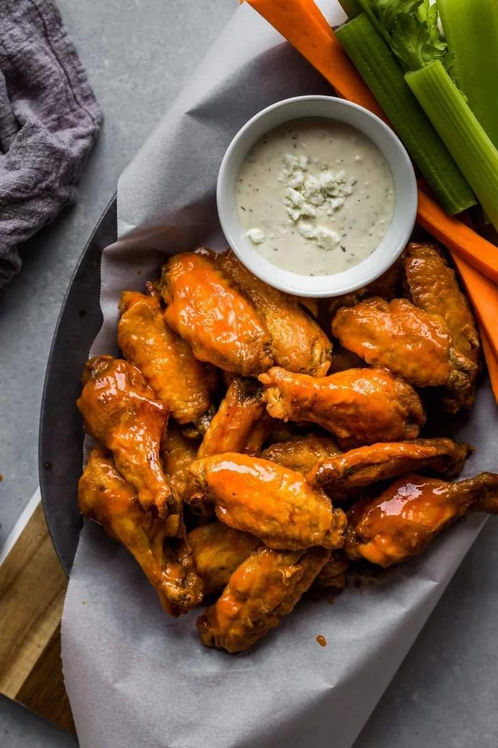 Buffalo Chicken Wings | Healthy Air Fryer Dinner Recipes ...