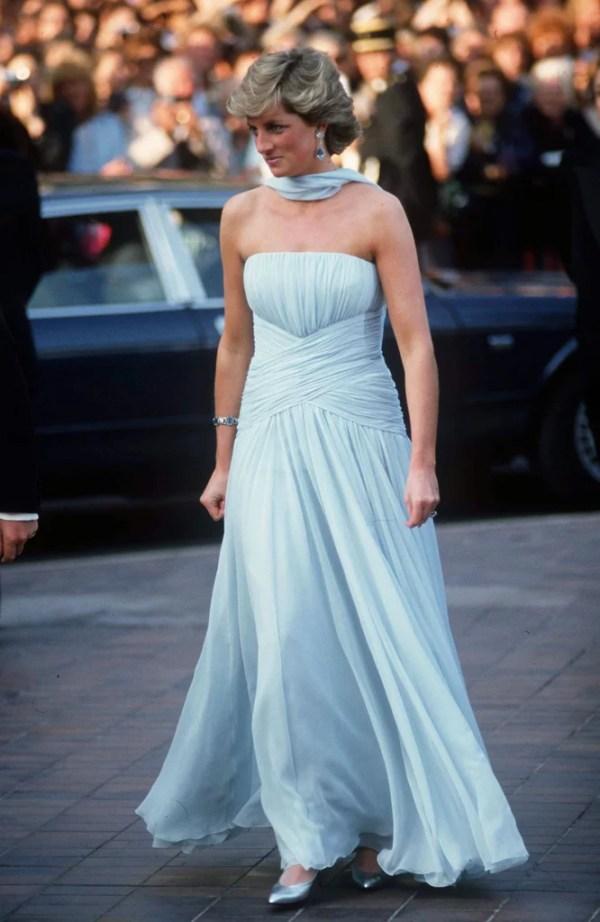 Princess Diana Cannes Film Festival Dresses POPSUGAR Fashion