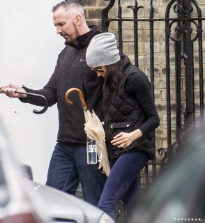Meghan Markle's Gym Style in Kensington