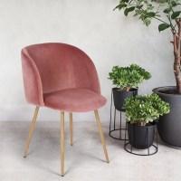 Amazon Midcentury Velvet Chair Set | POPSUGAR Home