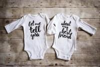 Twins Onesies   POPSUGAR Moms