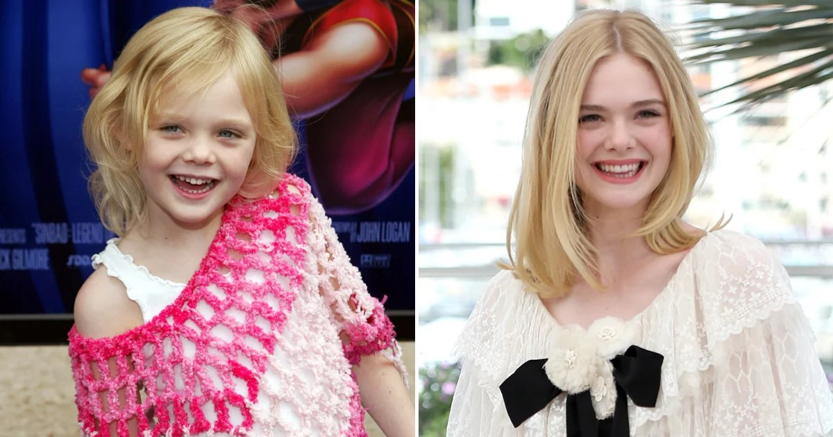 Watch Elle Fanning Grow Up Right Before Your Eyes With Her Hollywood Evolution