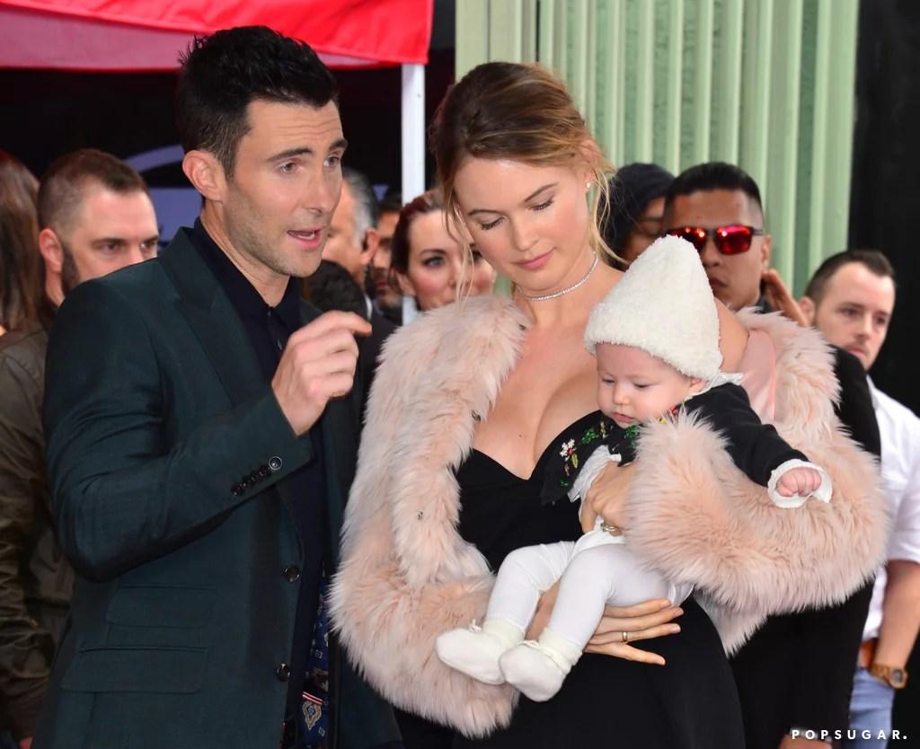 Levine Adam New Baby