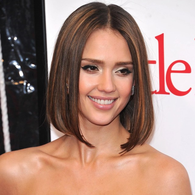 jessica alba hair colour and best hairstyles | popsugar