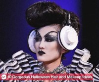 10 Pretty, New Halloween Hair and Makeup Ideas | POPSUGAR ...