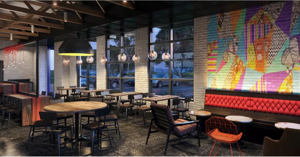 Taco Bells Restaurant Redesign  POPSUGAR Home