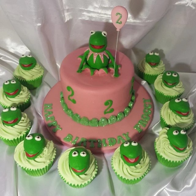 Kermit The Frog And Company Muppet Birthday Cake Ideas