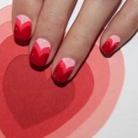 Valentine's Day Heart Nail Art by Jin Soon | POPSUGAR Beauty