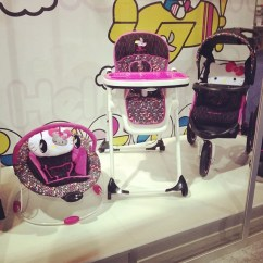 Hello Kitty High Chair Wheelchair Escalator Baby Trend Is Introducing A Line That Includes Bouncers Chairs Strollers