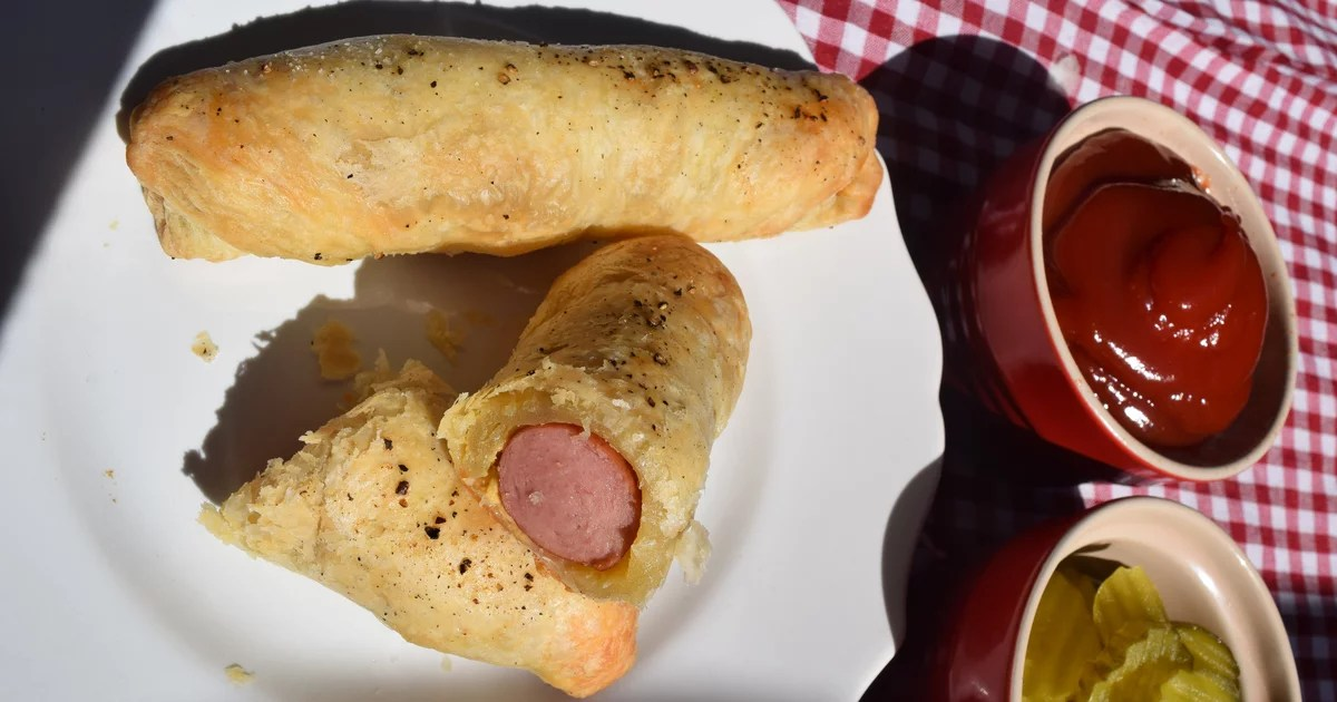 OK, I Know These Pastry-Wrapped Hot Dogs Look Inappropriate, but I Swear They're Delicious