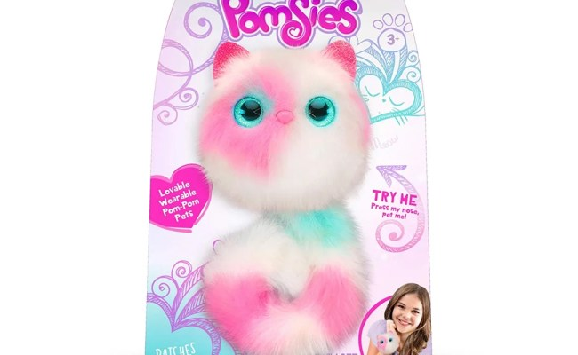 Pomsies Patches Plush Interactive Toy Best Cheap Amazon