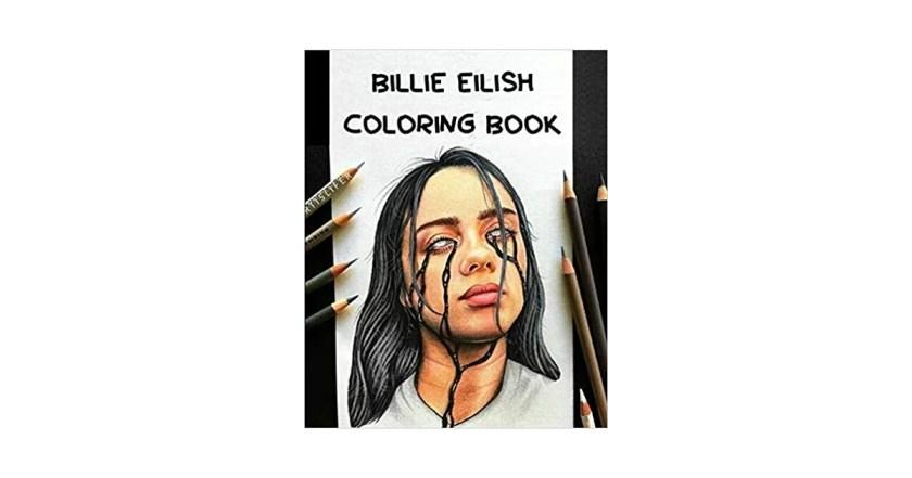 billie eilish colouring book  gifts for billie eilish