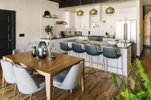 zoom background modern chic kitchen backgrounds dining elm west fun filters disney