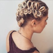 braided updo easy hairstyles