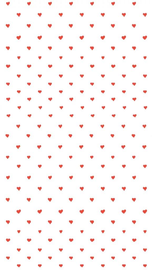 How To Make Wallpaper Fit On Iphone 6 Supercute Hearts Cute Iphone 6 Wallpaper Popsugar Tech