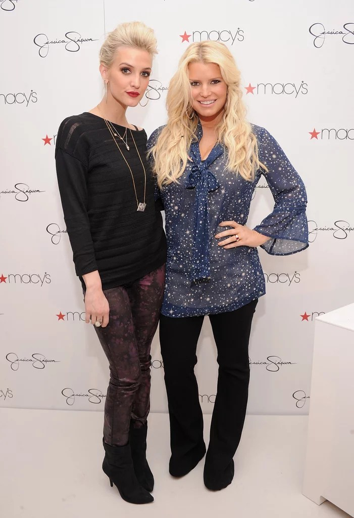 Jessica and Ashlee Simpson Attend Macys Event  Pictures  POPSUGAR Celebrity